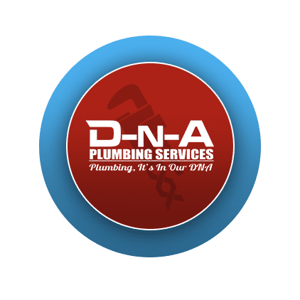 D-N-A Plumbing services badge